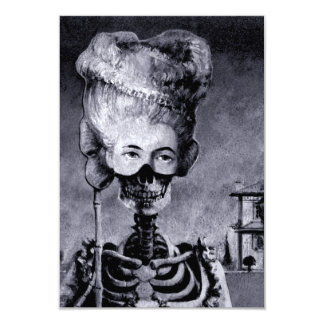 Invitation squelettique de Halloween