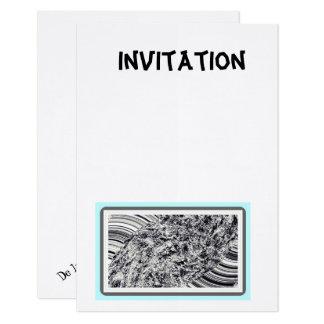 Invitation  toute occasion avec photo et texte