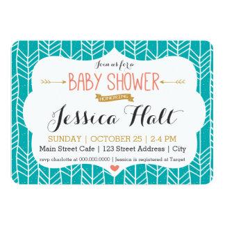 Invitation tribale de baby shower de Boho