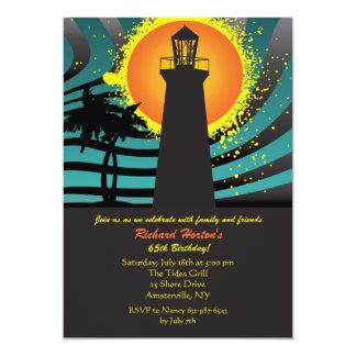 Invitation tropicale de phare