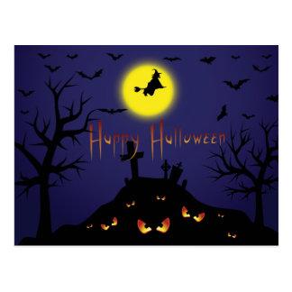 Invitation vintage de partie de Halloween avec le