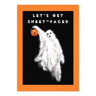 Invitations adultes de Halloween
