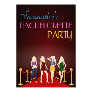 Invitations chics de partie de Bachelorette de