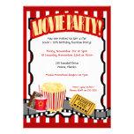 Invitations d'anniversaire de billet de PARTIE de