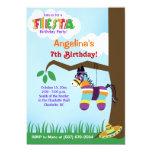 Invitations d'anniversaire de Cinco De Mayo de Carton D'invitation 12,7 Cm X 17,78 Cm