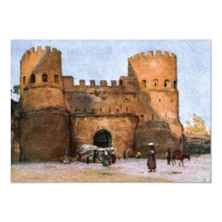 Invitations de château de Rome