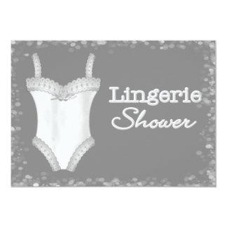 Invitations de douche de lingerie