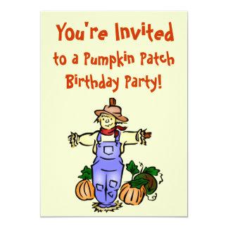 Invitations de fête d'anniversaire de correction