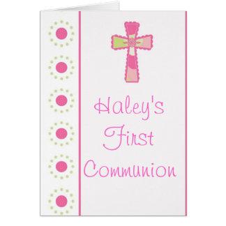 Invitations de la communion ou du baptême de la