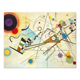 Invitations de la composition VIII en Kandinsky