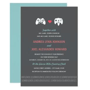 Invitations Faire Part Geek Zazzle Fr