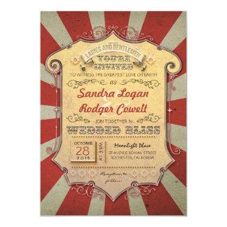 invitations de mariage de carnaval carton d'invitation  12,7 cm x 17,78 cm