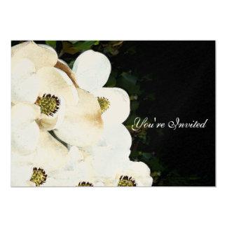 Invitations de mariage de magnolia