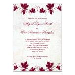 Invitations de mariage de vignoble