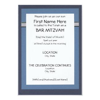 Invitations de Mitzvah de barre