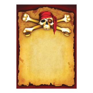 Invitations de partie de pirate