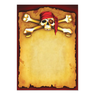 Invitations de partie de pirate