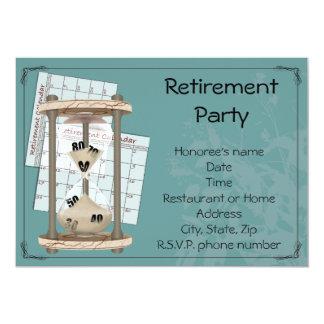 Invitations de partie de retraite