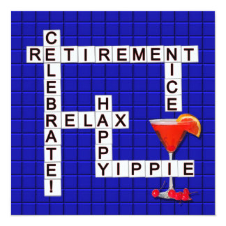Invitations de partie de retraite - puzzle