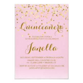 Invitations de Quinceañera
