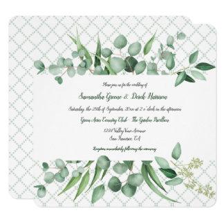 Invitations de trellis de Botanicals d'envie