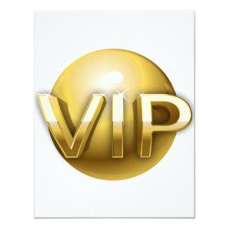 Invitations de VIP Carton D'invitation 10,79 Cm X 13,97 Cm