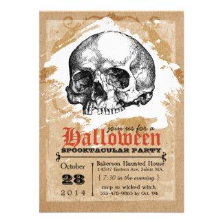 Invitations déplaisantes de partie de Halloween de