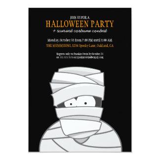 Invitations déplaisants de partie de Halloween de Carton D'invitation 12,7 Cm X 17,78 Cm