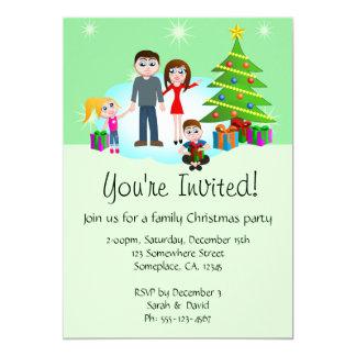 Invitations d'invitations de partie de famille de