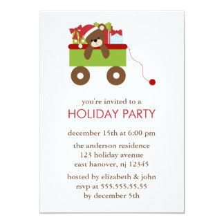 Invitations d'ours et de présents