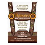 Invitations drôles de partie d'Oktoberfest de Lede
