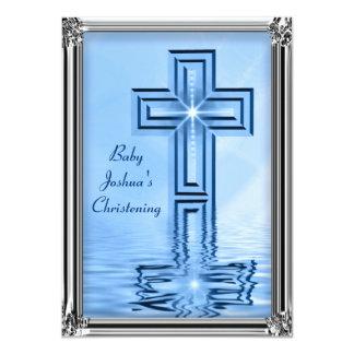 Invitations élégantes de baptême de bébé