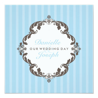 INVITATIONS ÉLÉGANTES DE MARIAGE : : flourish 1 de