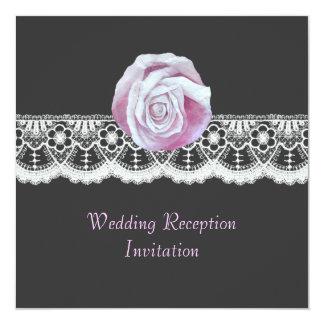 Invitations élégants chics de réception de mariage