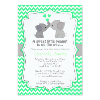 Invitations en bon état Chev 362 de baby shower