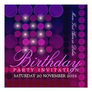 Invitations géniales d'anniversaire de partie de