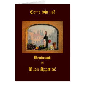 Invitations italiennes