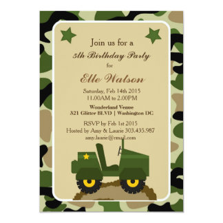 Camouflage Invitation for luxury invitation ideas