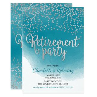 Invitations modernes de partie de retraite