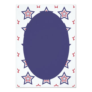 Invitations patriotiques classiques americana de