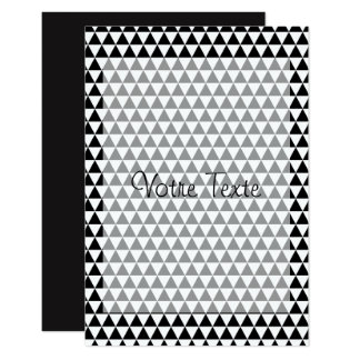 Invitations Pattern Triangles Mate