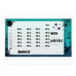 Invitations spéciaux de carte postale de Bunco