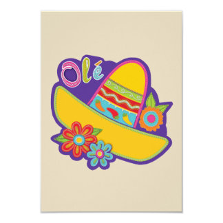 Invitations traditionnels de partie de Cinco De
