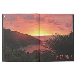 """iPad Pro 12.9"""" Case Affiche du grésillement II de coucher du soleil de"""