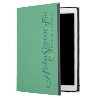 """iPad Pro 12.9"""" Case Alpha logo 2 de Tau de sigma"""
