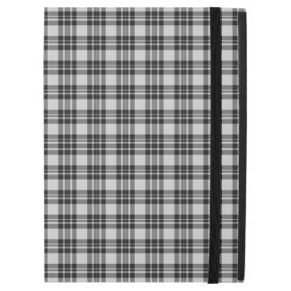 """iPad Pro 12.9"""" Case Caisse de tartan de Black&white"""