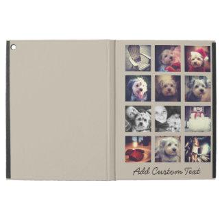 """iPad Pro 12.9"""" Case collage carré de la photo 12 avec l'arrière - plan"""