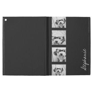"""iPad Pro 12.9"""" Case Collage noir et blanc de photo d'Instagram"""