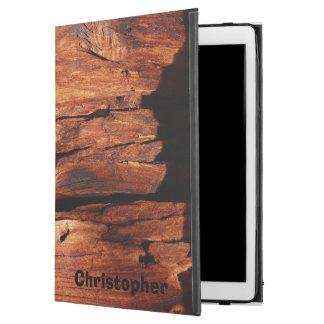 """iPad Pro 12.9"""" Case Folio rocailleux personnalisé par voie de garage"""