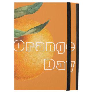 "iPad Pro 12.9"" Case Jour orange aujourd'hui"